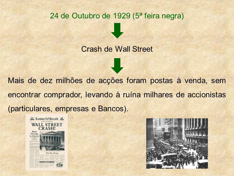 24 de Outubro de 1929 (5ª feira negra)
