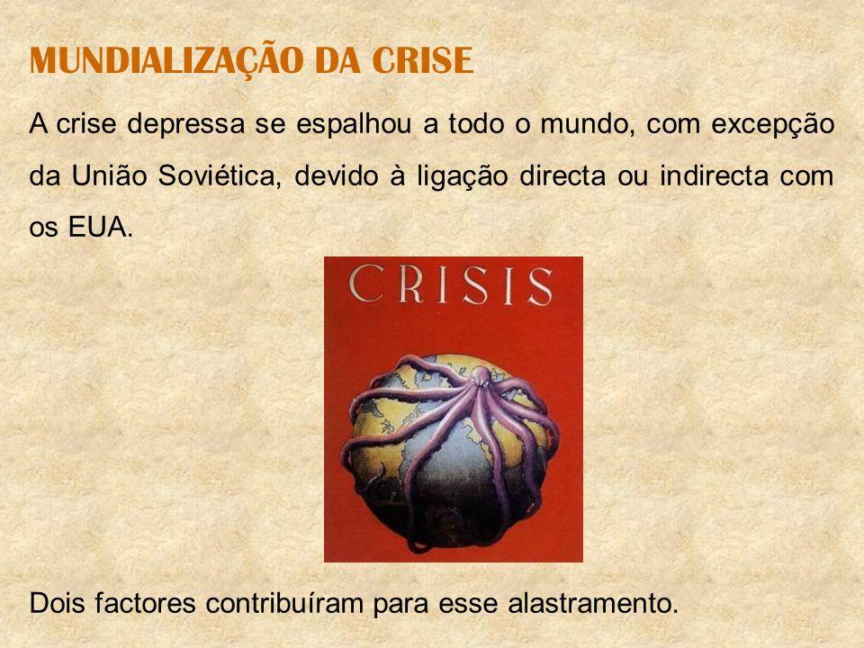 MUNDIALIZAÇÃO DA CRISE