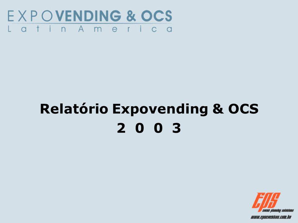 Relatório Expovending & OCS