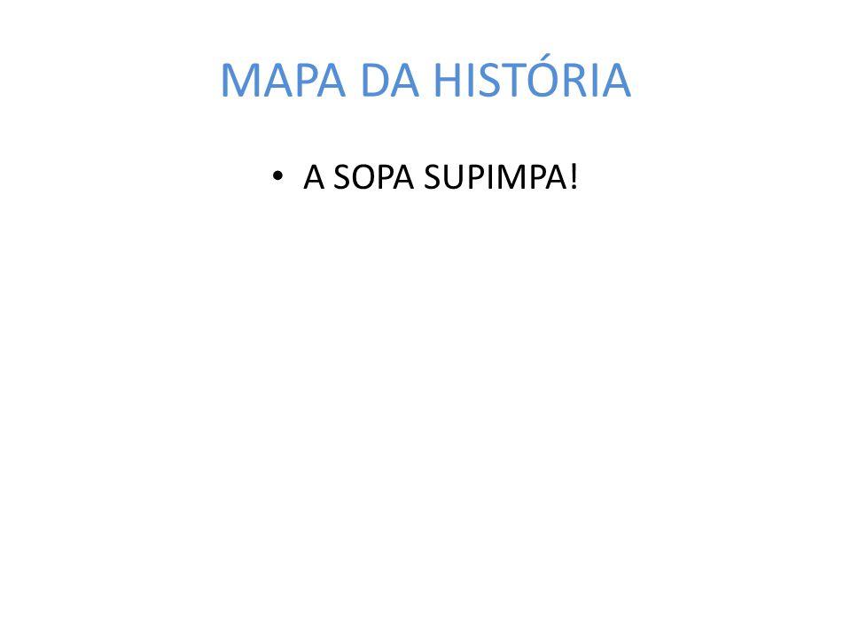 MAPA DA HISTÓRIA A SOPA SUPIMPA!
