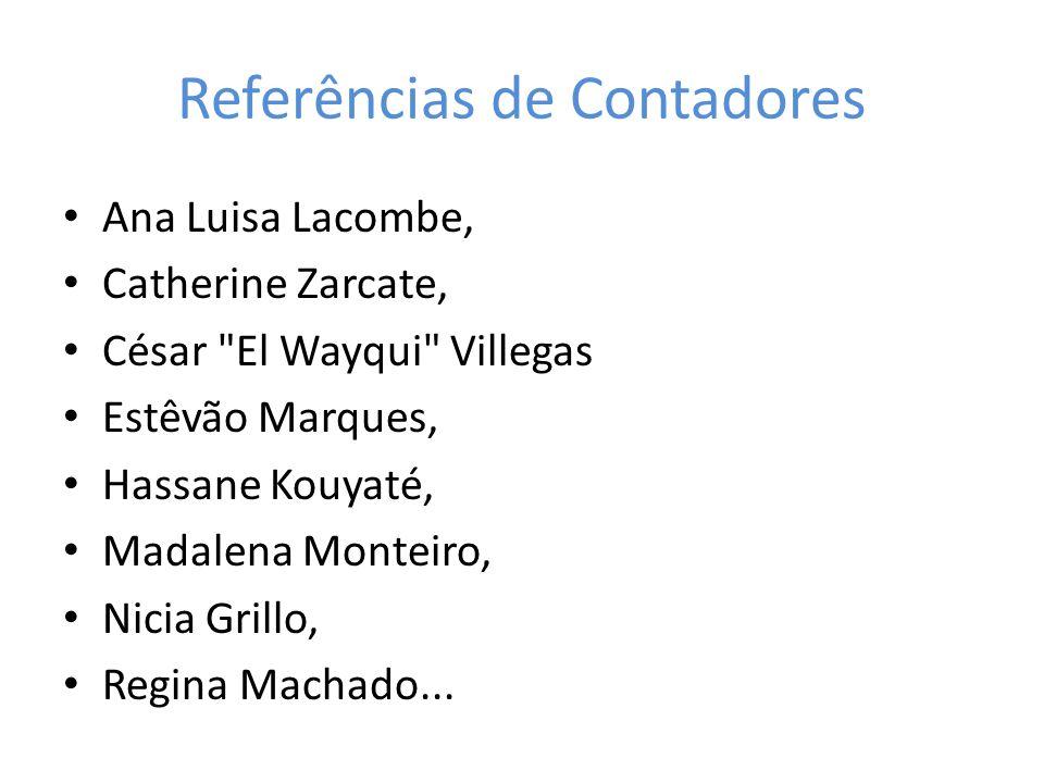 Referências de Contadores