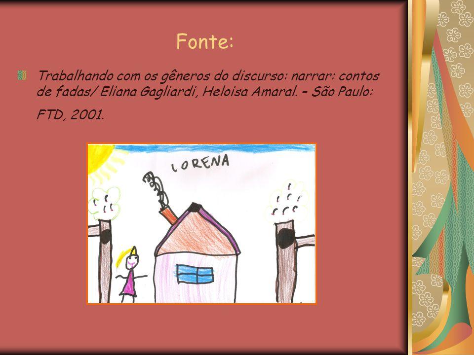 Fonte: Trabalhando com os gêneros do discurso: narrar: contos de fadas/ Eliana Gagliardi, Heloisa Amaral.