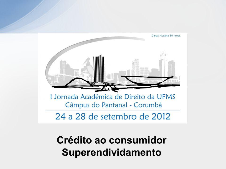 Crédito ao consumidor Superendividamento