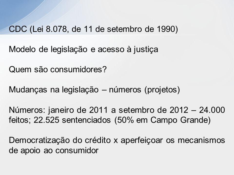 CDC (Lei 8.078, de 11 de setembro de 1990)