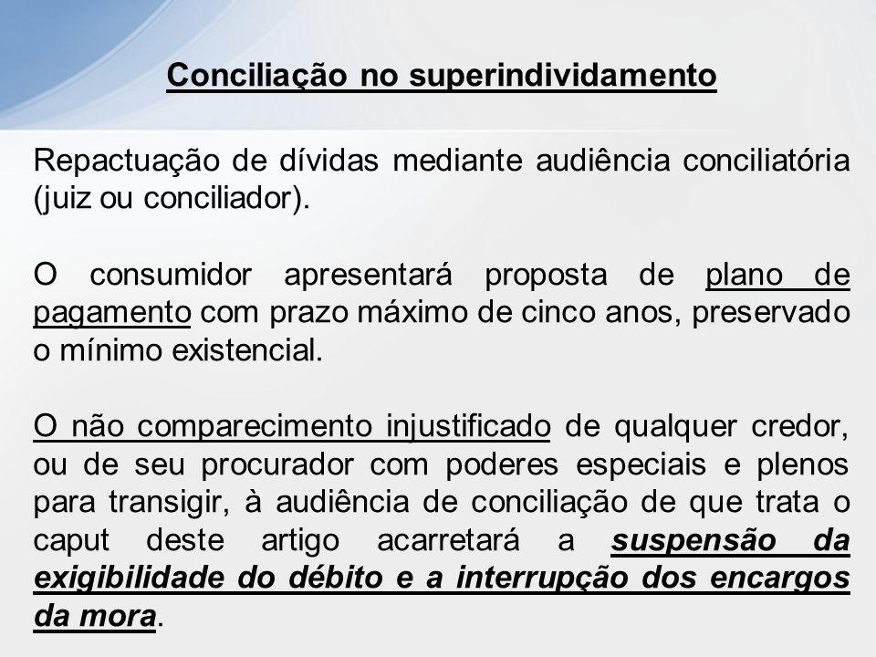 Conciliação no superindividamento