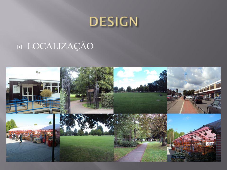 DESIGN LOCALIZAÇÃO