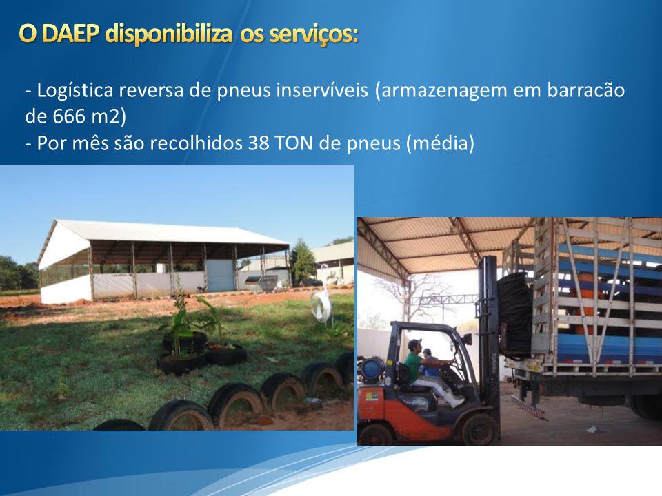 O DAEP disponibiliza os serviços: