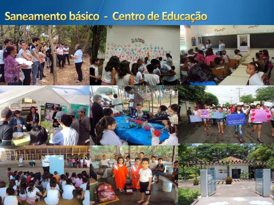 Saneamento básico - Centro de Educação