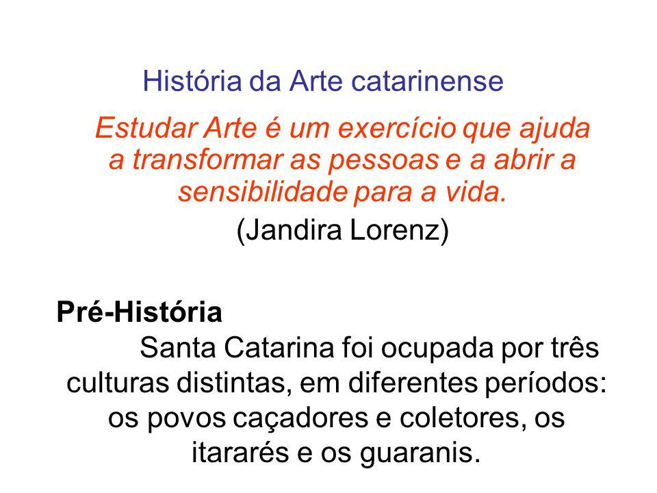 História da Arte catarinense