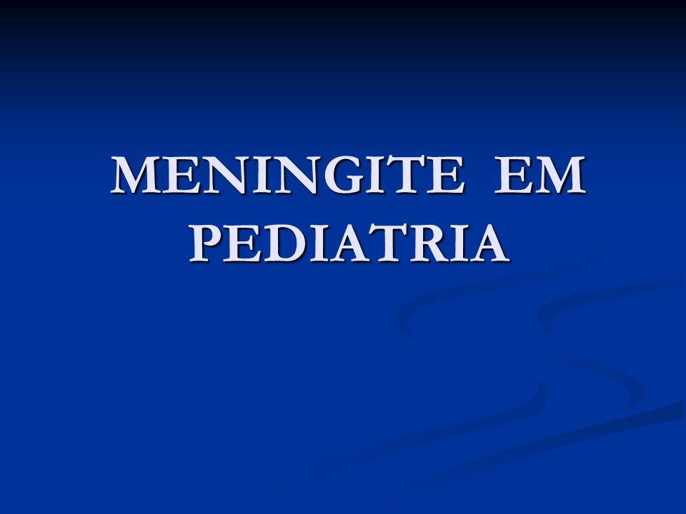 MENINGITE EM PEDIATRIA
