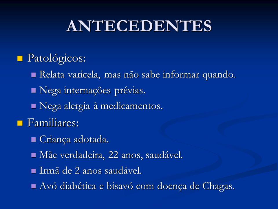 ANTECEDENTES Patológicos: Familiares: