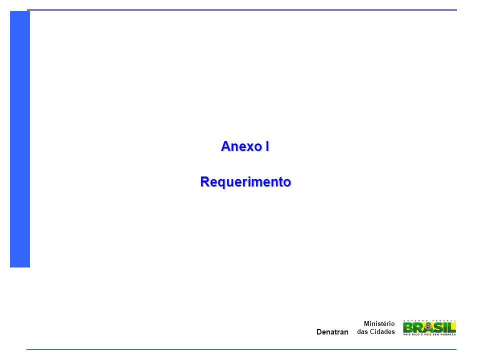 Anexo I Requerimento