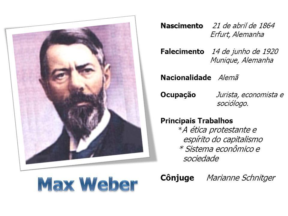 Max Weber espírito do capitalismo * Sistema econômico e sociedade