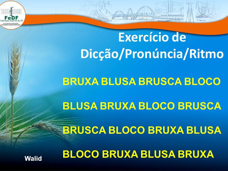 Exercício de Dicção/Pronúncia/Ritmo