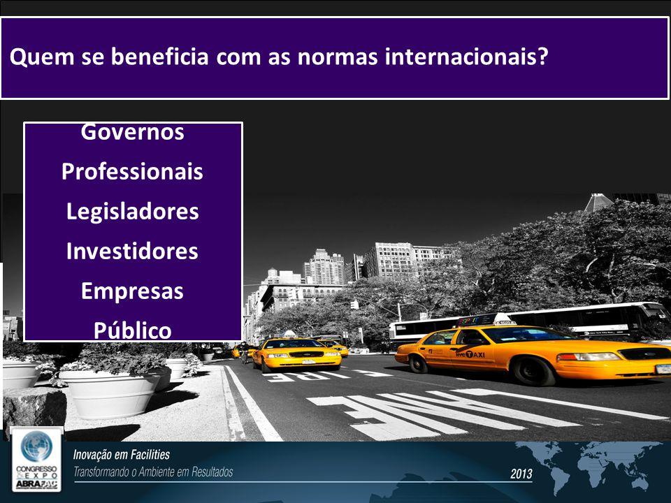 Quem se beneficia com as normas internacionais