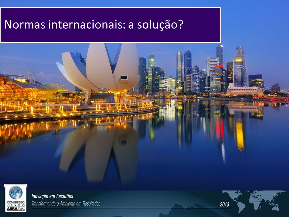 Normas internacionais: a solução