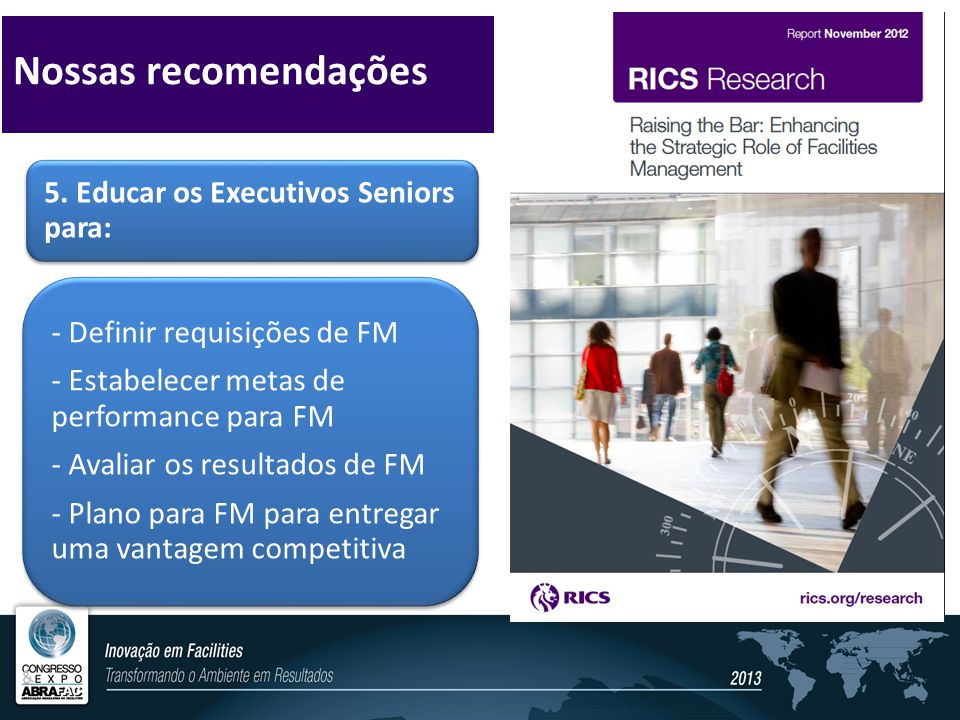 Nossas recomendações - Definir requisições de FM