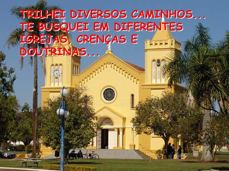 TRILHEI DIVERSOS CAMINHOS