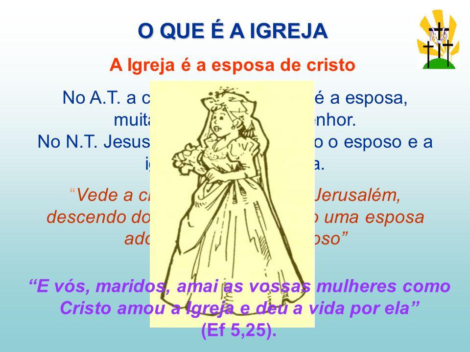 A Igreja é a esposa de cristo