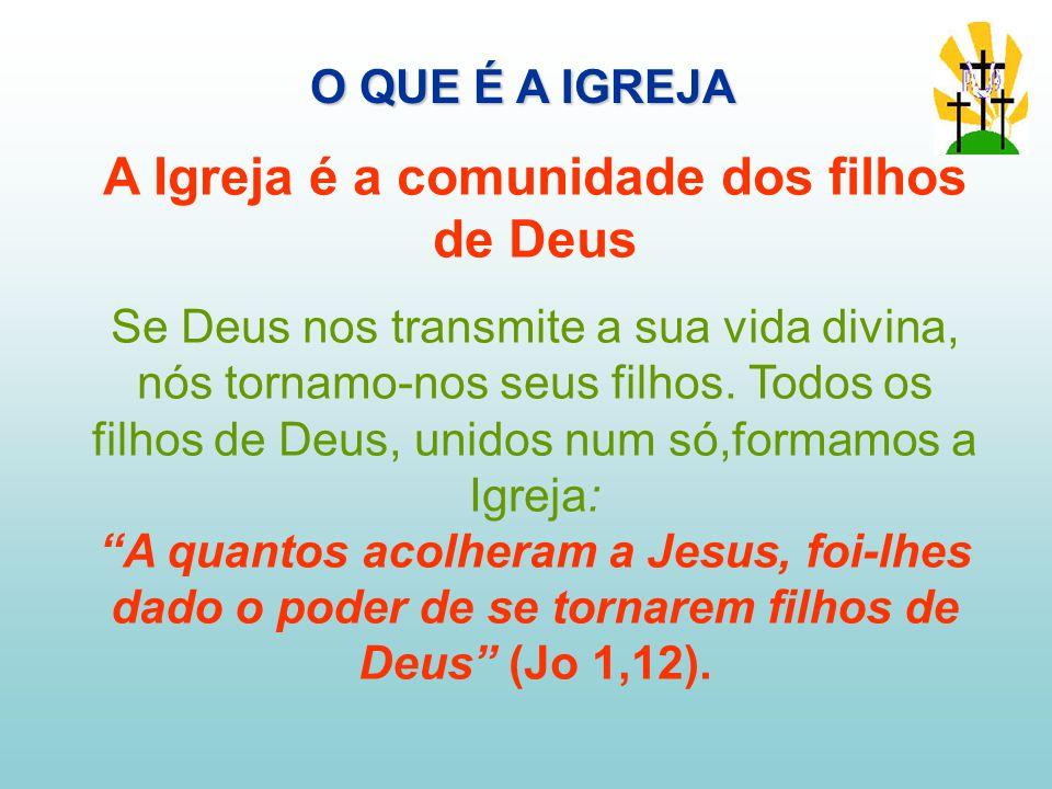 A Igreja é a comunidade dos filhos de Deus