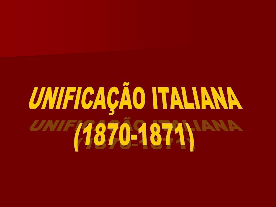 UNIFICAÇÃO ITALIANA (1870-1871)