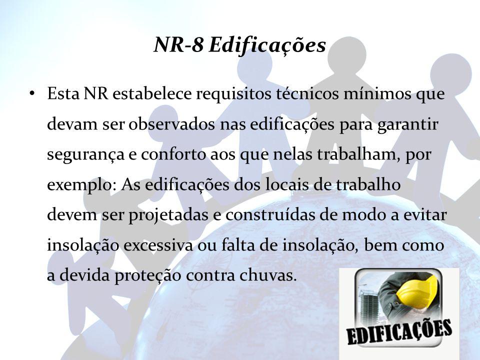 NR-8 Edificações