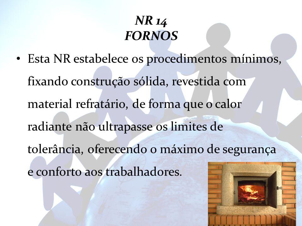 NR 14 FORNOS