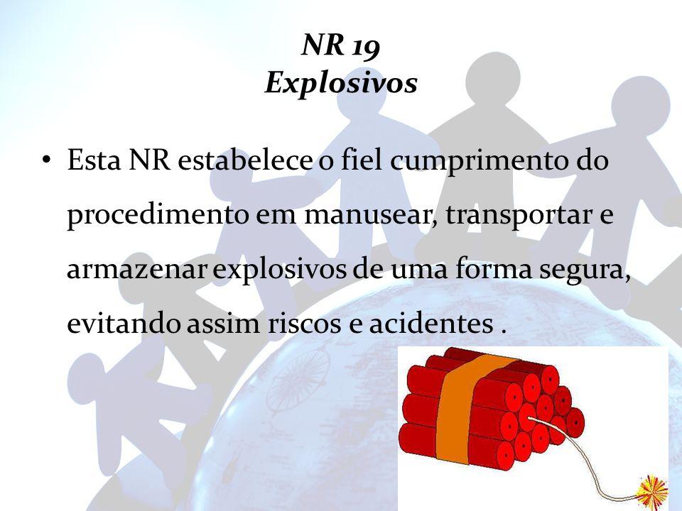 NR 19 Explosivos