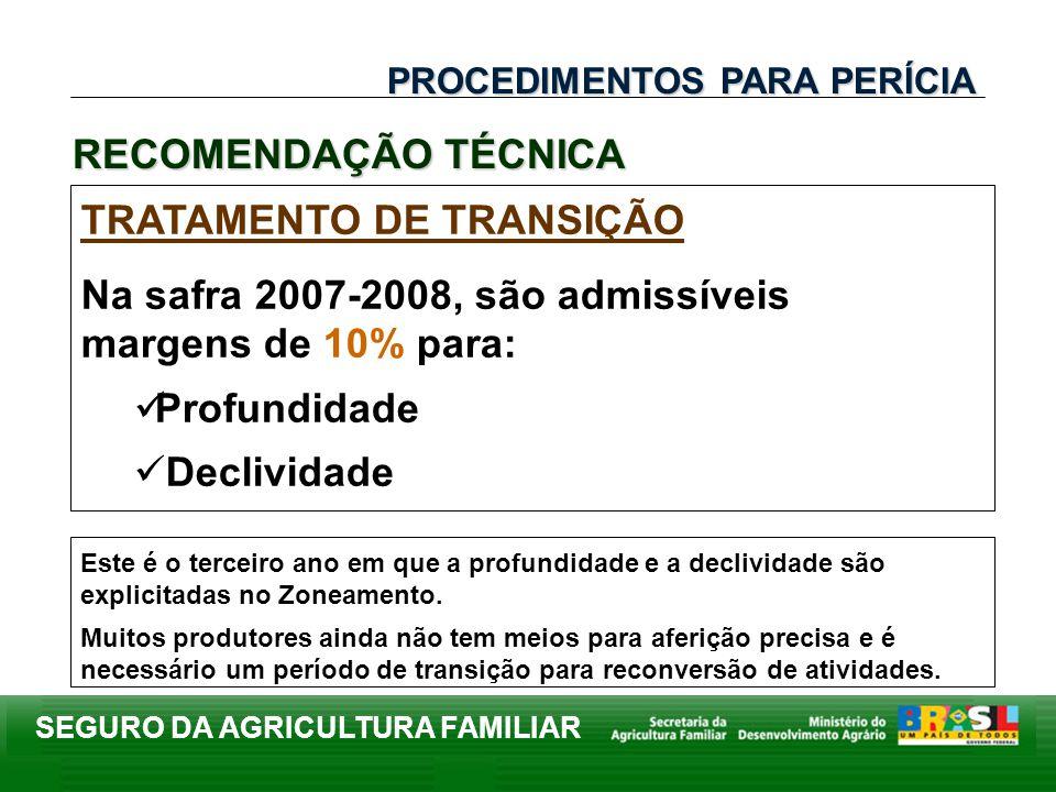 TRATAMENTO DE TRANSIÇÃO