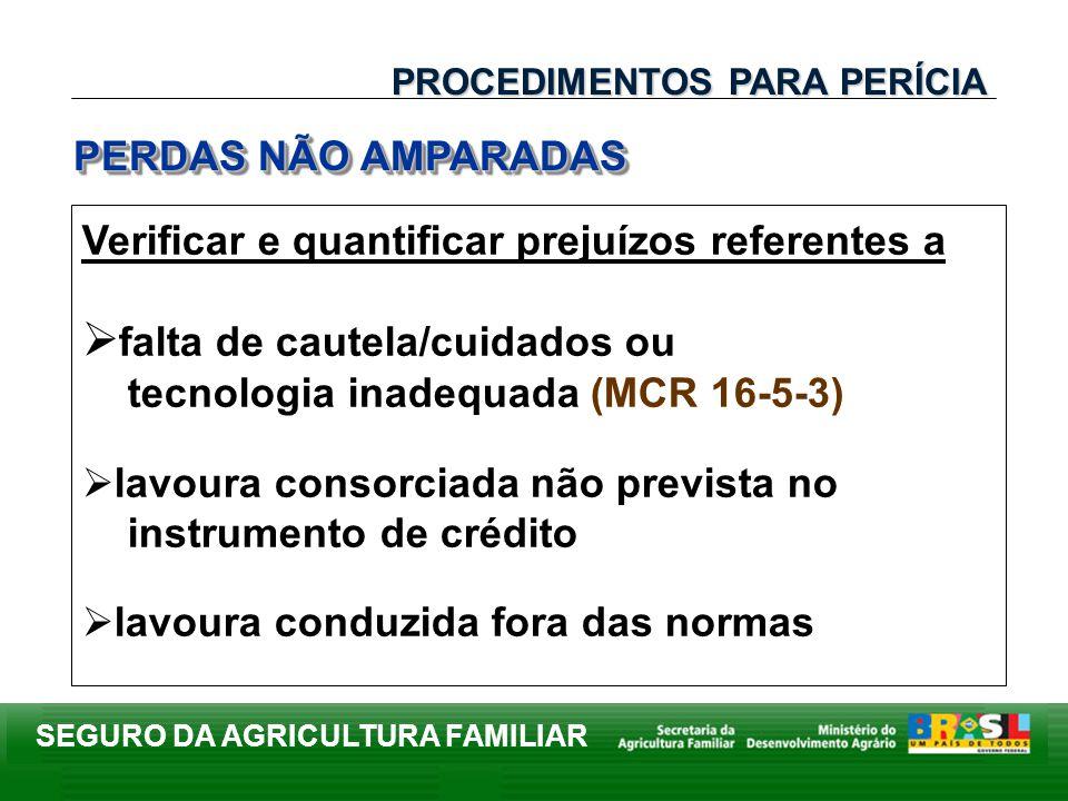 falta de cautela/cuidados ou tecnologia inadequada (MCR 16-5-3)