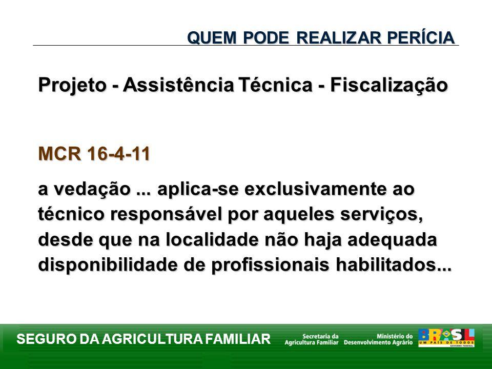 Projeto - Assistência Técnica - Fiscalização