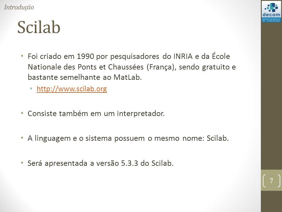 Introdução Scilab.
