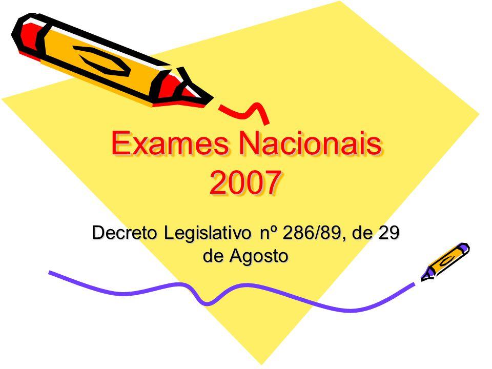 Decreto Legislativo nº 286/89, de 29 de Agosto