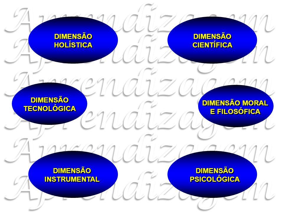 DIMENSÃO MORAL E FILOSÓFICA DIMENSÃO INSTRUMENTAL