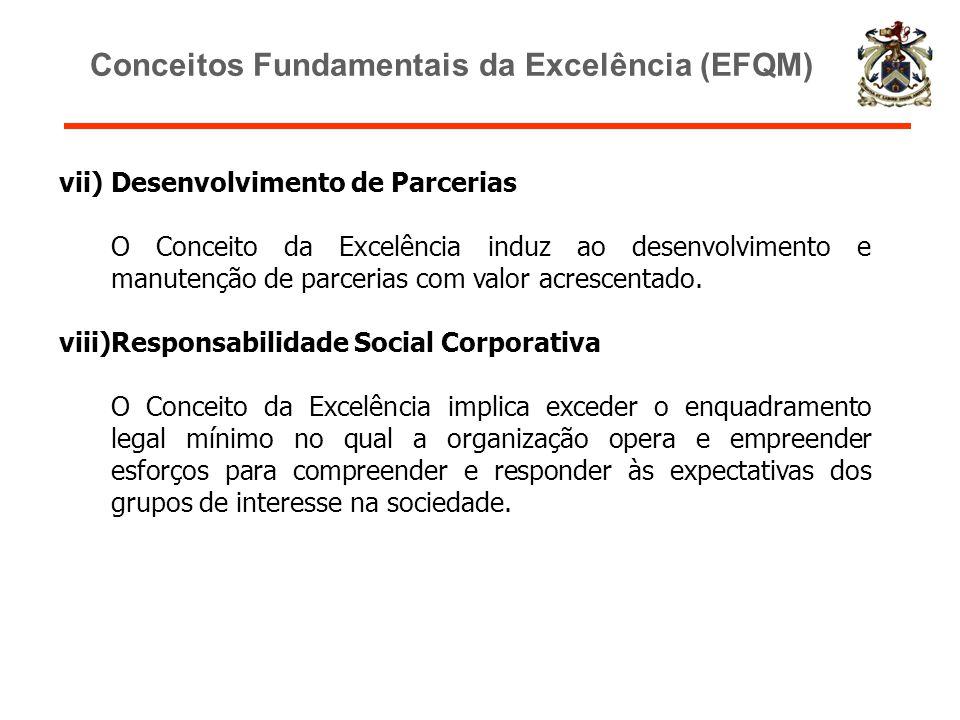 Conceitos Fundamentais da Excelência (EFQM)