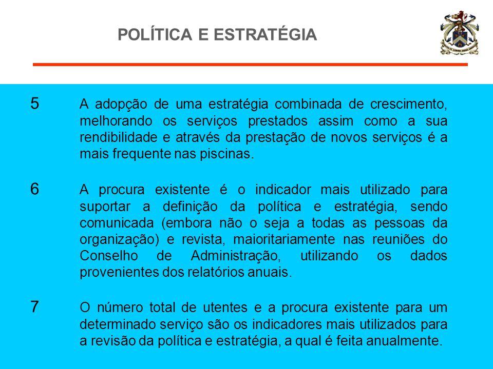 POLÍTICA E ESTRATÉGIA