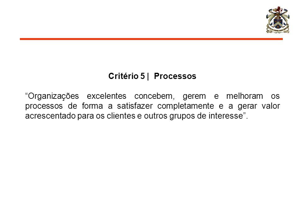 Critério 5 | Processos