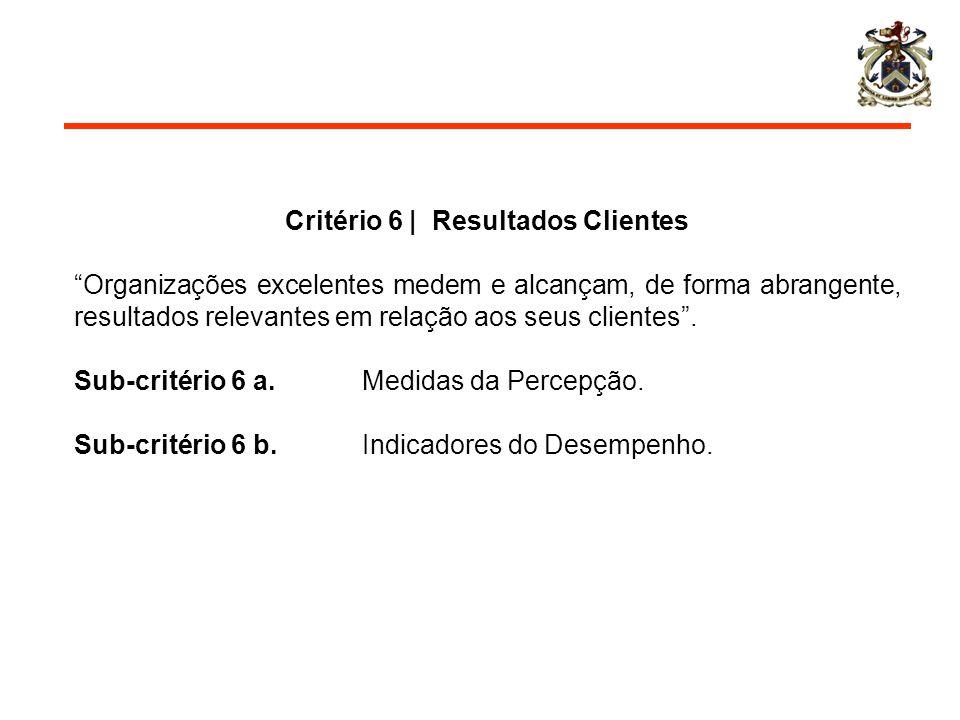 Critério 6 | Resultados Clientes
