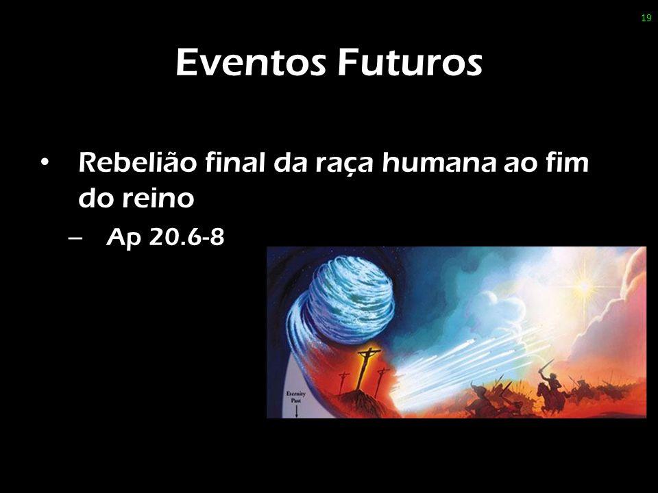 Eventos Futuros Rebelião final da raça humana ao fim do reino