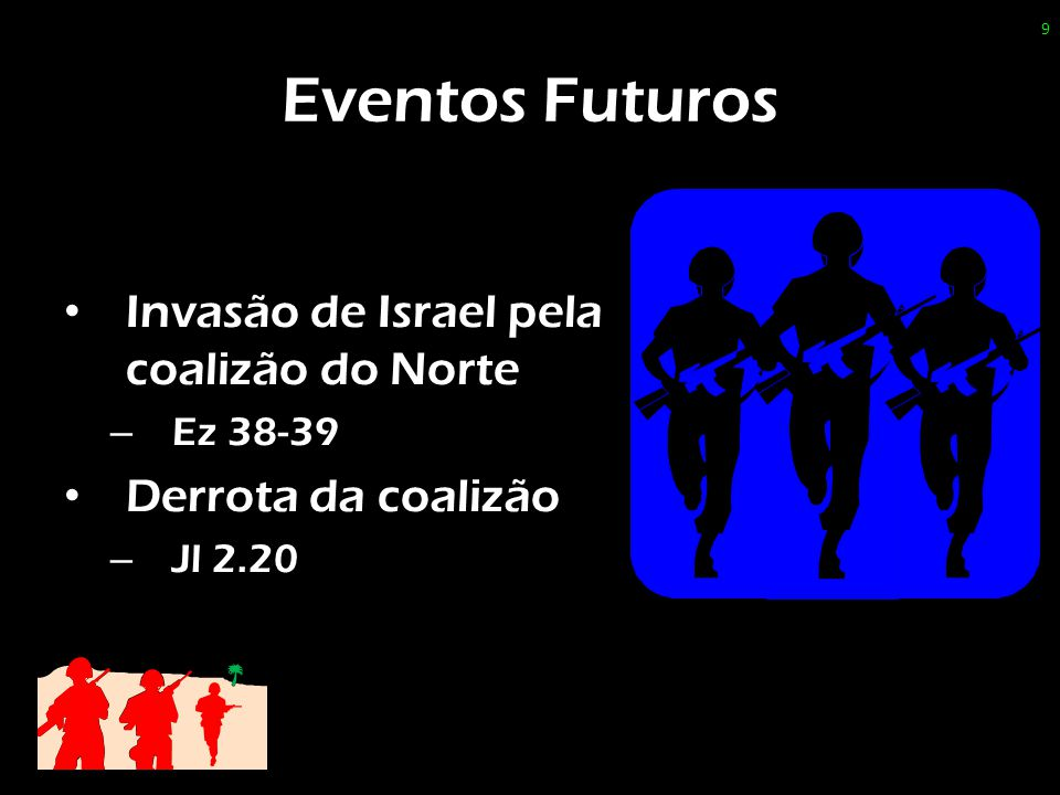Eventos Futuros Invasão de Israel pela coalizão do Norte