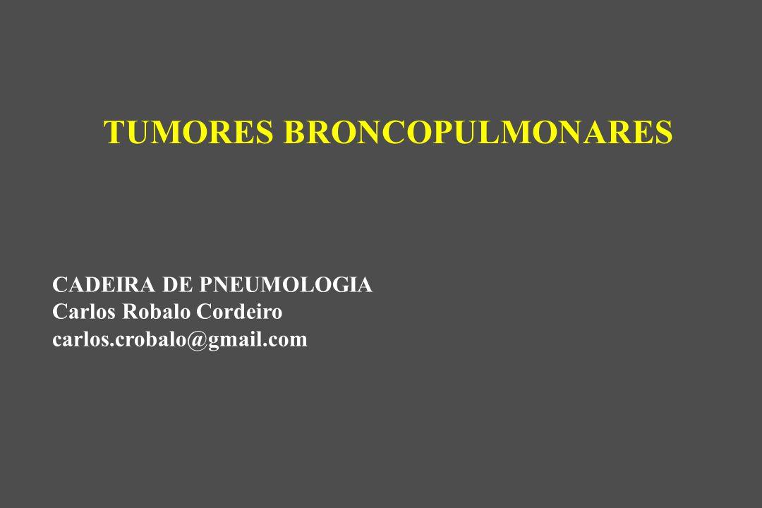 TUMORES BRONCOPULMONARES