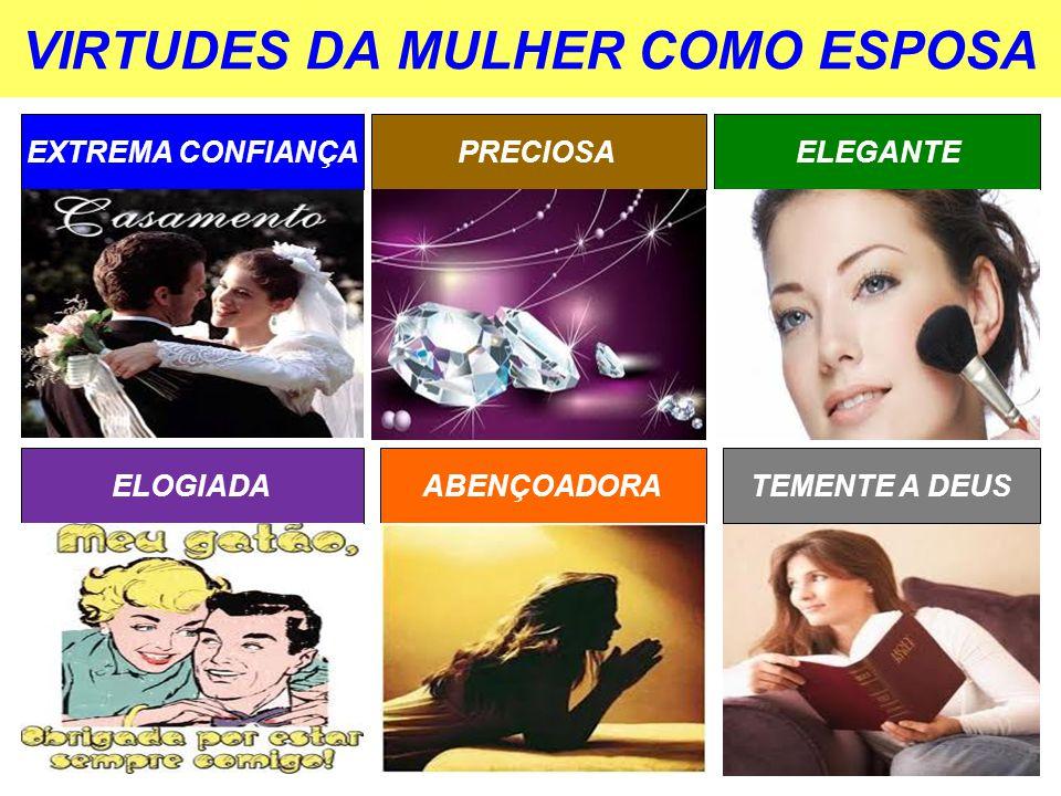 VIRTUDES DA MULHER COMO ESPOSA