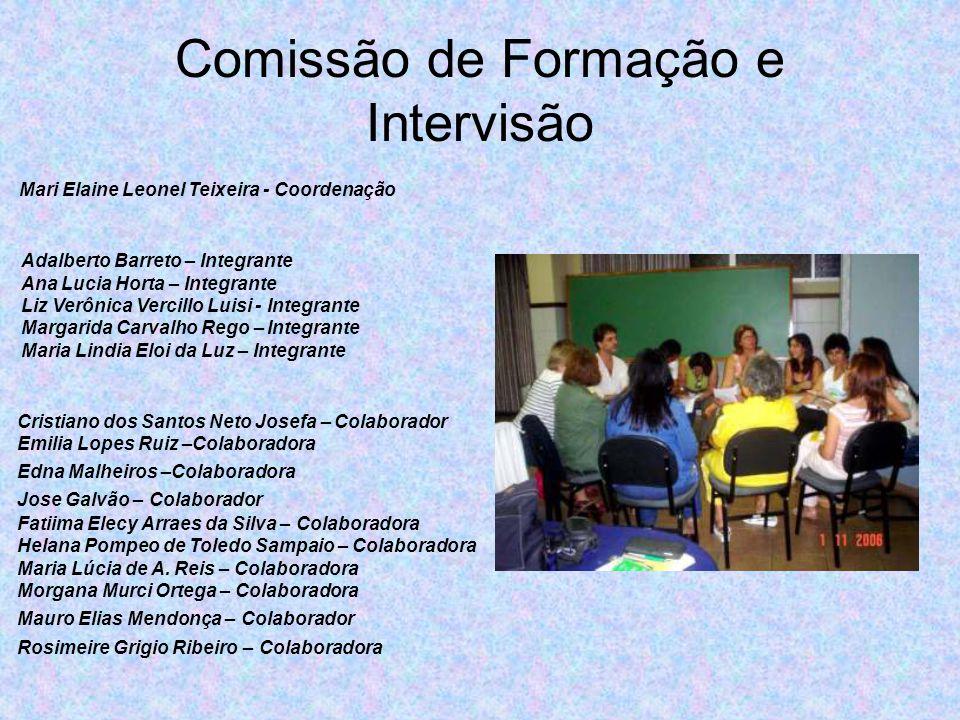Comissão de Formação e Intervisão