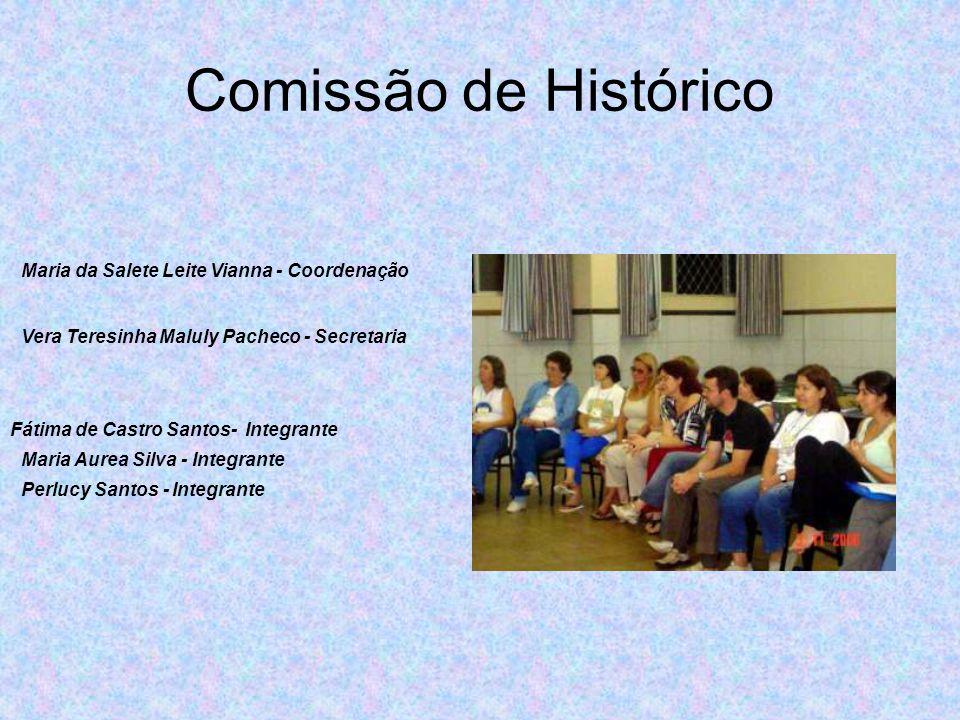 Comissão de Histórico Maria da Salete Leite Vianna - Coordenação