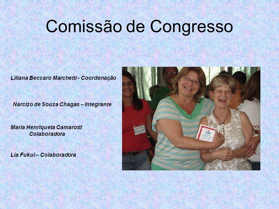 Comissão de Congresso Liliana Beccaro Marchetti - Coordenação
