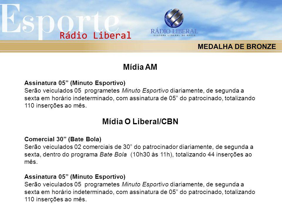 Mídia AM Mídia O Liberal/CBN