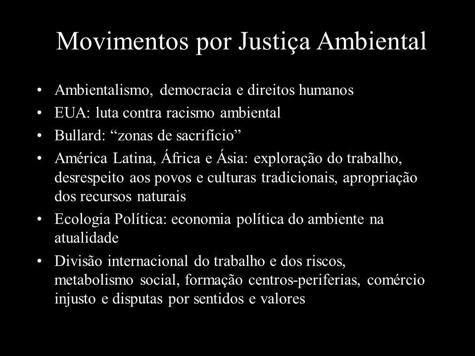 Movimentos por Justiça Ambiental