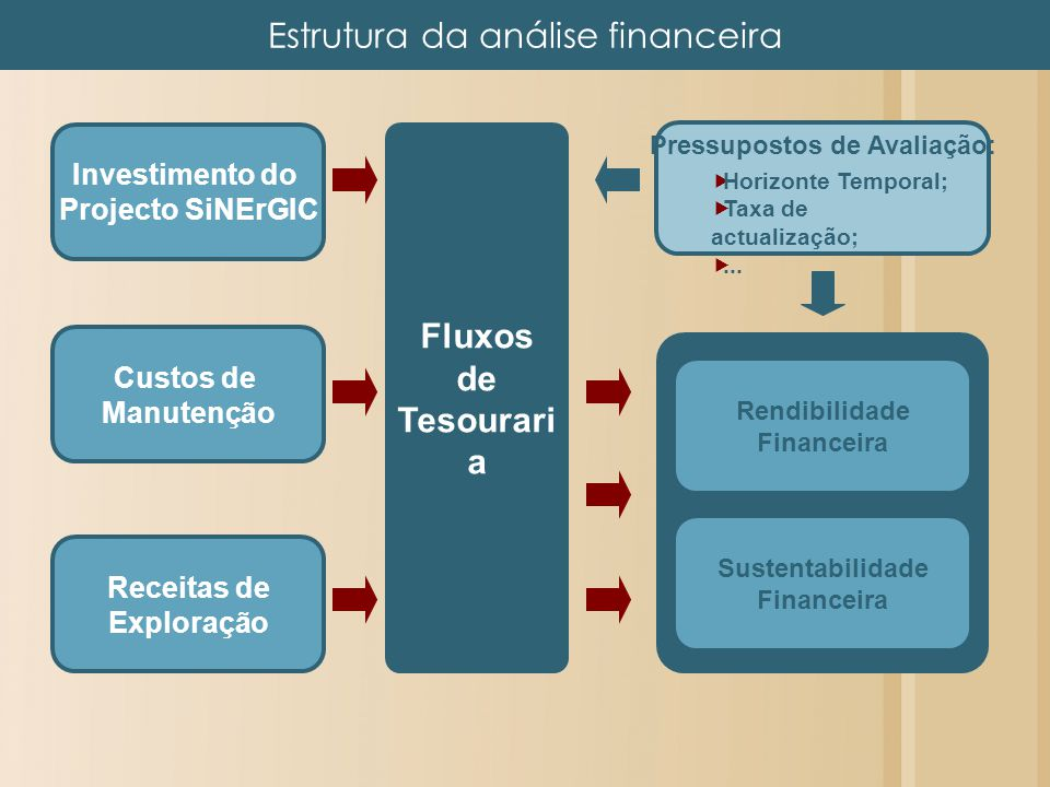 Estrutura da análise financeira