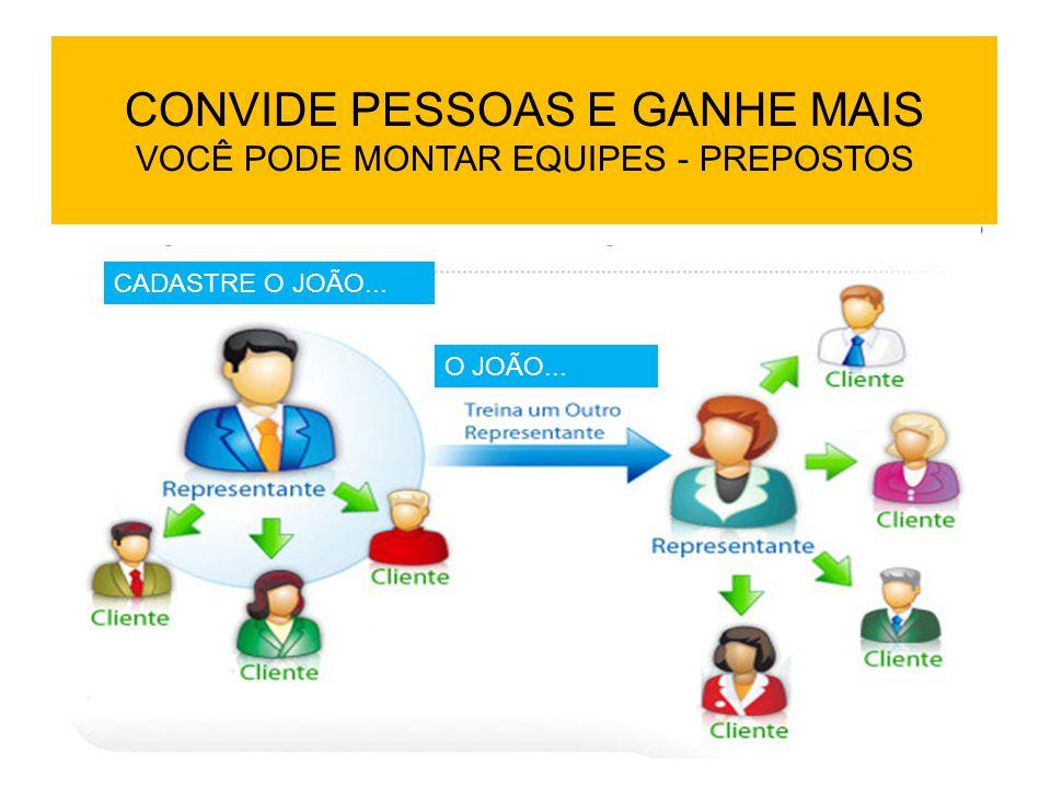 CONVIDE PESSOAS E GANHE MAIS