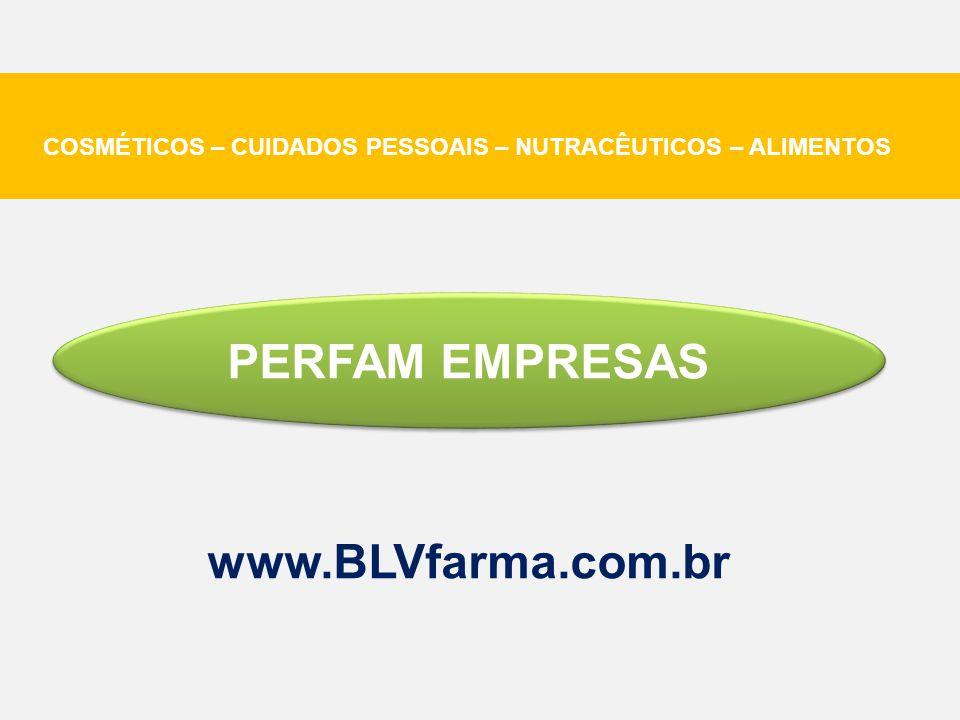 PERFAM EMPRESAS www.BLVfarma.com.br